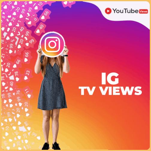 IG TV views